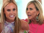 Orange County, California - Monday, August 24, 2015. \n¿Real Housewives of Orange County¿ On tonight¿s episode, titled ¿Racing To the Truth¿ Heather hosts a luncheon at her home, where Meghan confronts Vicki. Meanwhile, Vicki and Brooks take a birthday getaway; Shannon tries to enjoy her birthday dinner with David and the kids and Meghan, Heather, Tamra and Shannon attend a NASCAR race. With Vicki Gunvalson, Tamra Judge, Heather Dubrow, Shannon Beador, Lizzie Rovsek and Meghan King Edmonds.\n