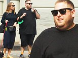 Exclusive GBP 40 per picture\n Mandatory Credit: Photo by Startraks Photo/REX Shutterstock (4989240c)\n Jonah Hill with girlfriend\n Jonah Hill and girlfriend out and about, New York, America - 23 Aug 2015\n Jonah Hill Spotted with girlfriend in Soho\n