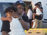 EXCLUSIVE: NEW YORK, NY - AUGUST 23: (EXCLUSIVE CONTENT) Rapper Jay Z with daughter Blue Ivy seen at the west side heliport on August 23, 2015 in New York City. (Photo Splash News)\n\nPictured: Jay Z, Blue Ivy\nRef: SPL1104754  230815   EXCLUSIVE\nPicture by: Splash News\n\nSplash News and Pictures\nLos Angeles: 310-821-2666\nNew York: 212-619-2666\nLondon: 870-934-2666\nphotodesk@splashnews.com\n