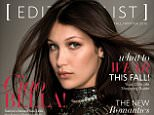 Bella Hadid covers Editorialist