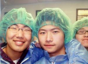 Private high school international students