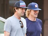 EXCLUSIVE / NO NYC PAPERS / NO MAIL ONLINEøAugust 24th 2015: Luke Wilson and brother Owen seen taking a walk together in New York City, USA.øMANDATORY CREDIT Pictures by Dave Spencer