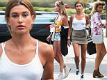 Picture Shows: Hailey Baldwin  August 23, 2015\n \n Model and reality star Hailey Baldwin is spotted out and about in New York City, New York. Hailey recently returned from Mexico where she celebrated her friend Kylie Jenner's 18th birthday.\n \n Non Exclusive\n UK RIGHTS ONLY\n \n Pictures by : FameFlynet UK © 2015\n Tel : +44 (0)20 3551 5049\n Email : info@fameflynet.uk.com