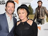 NEW YORK, NY - JUNE 04:  Actors Hugh Jackman (L) and Deborra-Lee Furness attend the premiere of Dukale's Dream on June 4, 2015 in New York City.  (Photo by Robin Marchant/Getty Images for The 7th Floor)