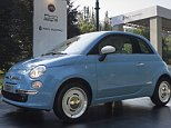 TURIN, ITALY - 2015/06/11: A Fiat 500 Vintage 57. Parco Valentino car show hosted 93 cars by many automobile manufacturers and car designers inside Valentino Park. (Photo by Marco Destefanis/Pacific Press/LightRocket via Getty Images)