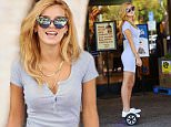 Exclusive GBP 40 per picture\n Mandatory Credit: Photo by Startraks Photo/REX Shutterstock (4989237n)\n Bella Thorne\n Bella Thorne out and about, Los Angeles, America - 23 Aug 2015\n Bella Thorne uses a segway while running errands including a grocery store visit.\n