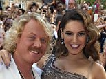 Mandatory Credit: Photo by REX Shutterstock (1823167a)  Keith Lemon and Kelly Brook  'Keith Lemon: The Film' premiere, London, Britain - 20 Aug 2012