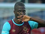 Enner Valencia scores 1-0 Europa League; West Ham United v Astra Giurgiu Open Training 30/07/15: Kevin Quigley/Daily Mail/Solo Syndication