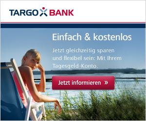 in Targobank Tagesgeld Konto