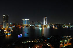 Skyline of Cairo