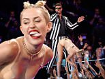 "FILE - OCTOBER 31: Soul legend Marvin Gaye's children filed a suit against singer Robin Thicke and his collaborators on ""Blurred Lines"" for copyright infringement. NEW YORK, NY - AUGUST 25:  Robin Thicke and Miley Cyrus perform bonstage during the 2013 MTV Video Music Awards at the Barclays Center on August 25, 2013 in the Brooklyn borough of New York City.  (Photo by Jemal Countess/FilmMagic)"