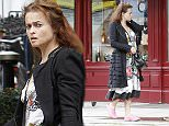 LONDON, ENGLAND - AUGUST 27:  Helena Bonham Carter sighting on August 27, 2015 in London, England.  (Photo by Crowder/Legge/GC Images)