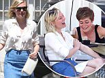 Picture Shows: Kirsten Dunst  August 27, 2015\n \n Actress Kirsten Dunst shares a few laughs with a friend while enjoying lunch in Los Angeles, California. \n \n Kristen, who recently returned from New York, has been busy of late promoting her latest project, 'Sleeping With Other People.' \n \n Exclusive - All Round\n UK RIGHTS ONLY\n \n Pictures by : FameFlynet UK © 2015\n Tel : +44 (0)20 3551 5049\n Email : info@fameflynet.uk.com
