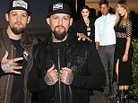 SYDNEY, AUSTRALIA - JULY 29:  Benji Madden and Joel Madden pose during the Voice Live Finals Show Launch on July 29, 2015 in Sydney, Australia.  (Photo by Don Arnold/WireImage)