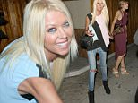 Picture Shows: Tara Reid  August 27, 2015\n \n Tara Reid enjoys a night out at The Nice Guy nightclub in West Hollywood, California.\n \n The 'Sharknado' actress was all smiles as she left the celebrity hot-spot hand in hand with a mystery woman.\n \n Non Exclusive\n UK RIGHTS ONLY\n \n Pictures by : FameFlynet UK © 2015\n Tel : +44 (0)20 3551 5049\n Email : info@fameflynet.uk.com