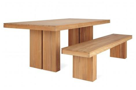 10 Easy Pieces: Modern Dining Tables and Benches: Remodelista