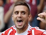 Southampton v Norwich,  Premier League.  Picture Andy Hooper Daily Mail/ Solo Syndication pic shows dusain tadic scores the second for saints