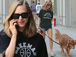 NEW YORK, NY - AUGUST 29: Amanda Seyfried and her dog Finn are seen on August 29, 2015 in New York City.  (Photo by Ignat/Bauer-Griffin/GC Images)