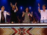 ****Ruckas Videograbs****  (01322) 861777 *IMPORTANT* Please credit ITV for this picture. 29/08/15 The X Factor - 8:00pm, 29th August, ITV1 Grabs from tonight's opening episode of The X Factor Office  (UK)  : 01322 861777 Mobile (UK)  : 07742 164 106 **IMPORTANT - PLEASE READ** The video grabs supplied by Ruckas Pictures always remain the copyright of the programme makers, we provide a service to purely capture and supply the images to the client, securing the copyright of the images will always remain the responsibility of the publisher at all times. Standard terms, conditions & minimum fees apply to our videograbs unless varied by agreement prior to publication.