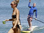 Picture Shows: Rebecca Gayheart  August 28, 2015\n \n Actress Rebecca Gayheart and her husband Eric Dane are spotted on the beach in Malibu, California with their daughters Billie and Georgia and friends. Rebecca looked to be sporting a small baby bump while rocking her black bikini... Could the happy couple be expecting another baby?\n \n Non-Exclusive\n UK RIGHTS ONLY\n \n Pictures by : FameFlynet UK © 2015\n Tel : +44 (0)20 3551 5049\n Email : info@fameflynet.uk.com