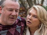 ITV STUDIOS PRESENTS The Trials Of Jimmy Rose EPISODE 2 Pictured :  RAY WINSTONE as Jimmy Rose and AMANDA REDMAN as Jackie Rose. Photographer: BEN BLACKALL. This image is the copyright of ITV and must be credited. The images are for one use only and to be used in relation to The Trials Of Jimmy Rose, any further usage could incur a fee.