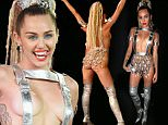 LOS ANGELES, CA - AUGUST 30:  Host Miley Cyrus  attends the 2015 MTV Video Music Awards at Microsoft Theater on August 30, 2015 in Los Angeles, California.  (Photo by Christopher Polk/Getty Images)