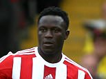 Victor Wanyama of Southampton   during the Barclays Premier League match Watford and Southampton   played at Vicarage Road Stadium , Watford
