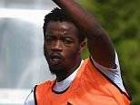 Chelsea FC via Press Association Images MINIMUM FEE 40GBP PER IMAGE - CONTACT PRESS ASSOCIATION IMAGES FOR FURTHER INFORMATION. Chelsea's Nathaniel Chalobah during a training session at the Cobham Training Ground on 21st August 2015 in Cobham, England.