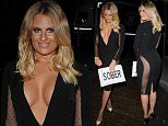 29 August 2015.\nDanielle armstrong, Chloe Sims, Cali Beach, Vicky Pattinson and Stephen Bear head to Nu Bar in Loughton, Essex.\nCredit: GoffPhotos.com   Ref: KGC-159\n