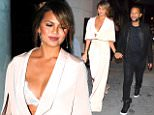 Chrissy Teigen and John Legend arrive at Craig's on Melrose, CA\n\nPictured: Chrissy Teigen and John Legend arrive at Craig's on Melrose, CA\nRef: SPL1113023  300815  \nPicture by: DutchLabUSA / Splash News\n\nSplash News and Pictures\nLos Angeles: 310-821-2666\nNew York: 212-619-2666\nLondon: 870-934-2666\nphotodesk@splashnews.com\n