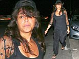 Santa Monica, CA - Michelle Rodriguez matches her dark outfit with her cap as she exits Giorgio Baldi Italian eatery in Sta. Monica.\nAKM-GSI      August  29, 2015\nTo License These Photos, Please Contact :\nSteve Ginsburg\n(310) 505-8447\n(323) 423-9397\nsteve@akmgsi.com\nsales@akmgsi.com\nor\nMaria Buda\n(917) 242-1505\nmbuda@akmgsi.com\nginsburgspalyinc@gmail.com
