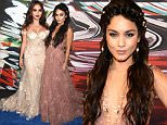 LOS ANGELES, CA - AUGUST 30:  Actresses Stella Hudgens (L) and Vanessa Hudgens attend the 2015 MTV Video Music Awards at Microsoft Theater on August 30, 2015 in Los Angeles, California.  (Photo by Jeff Kravitz/FilmMagic)