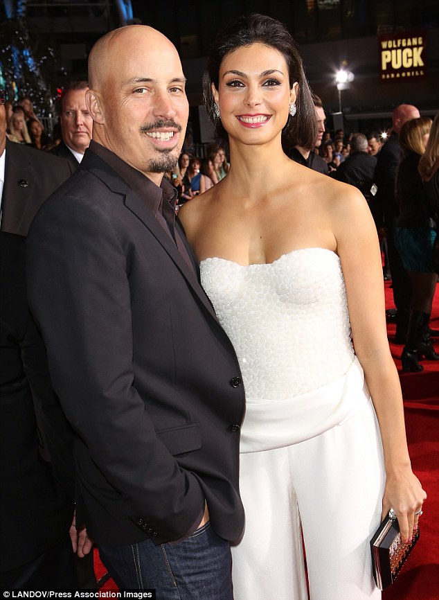 Happier times: The couple - pictured here at the People's Choice Awards in January 2013 shortly after announcing their baby joy - married  in November 2011
