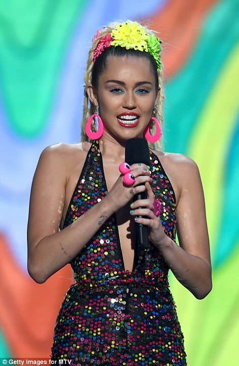 Battle: The Wrecking Ball singer also got into a verbal argument with Nicki Minaj on live television