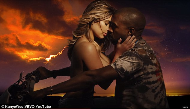 Originals: Kylie's eldest sister Kim Kardashian appeared topless in husband Kanye West's video for his explicit song 'Bound 2' back in 2013