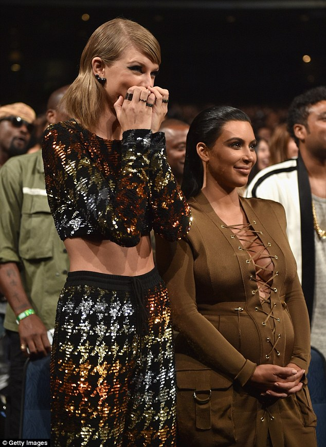 Bygones: The rapper was presented the award by Taylor Swift, who he infamously interrupted during her 2009 VMAs acceptance speech