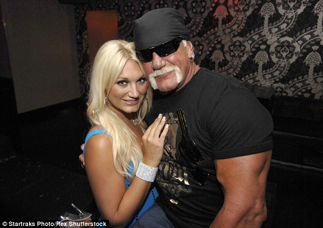 'If anybody should have disowned me it should have been her,' Hogan said of Brooke. 'I was upset about something that happened between her and her boyfriend.'
