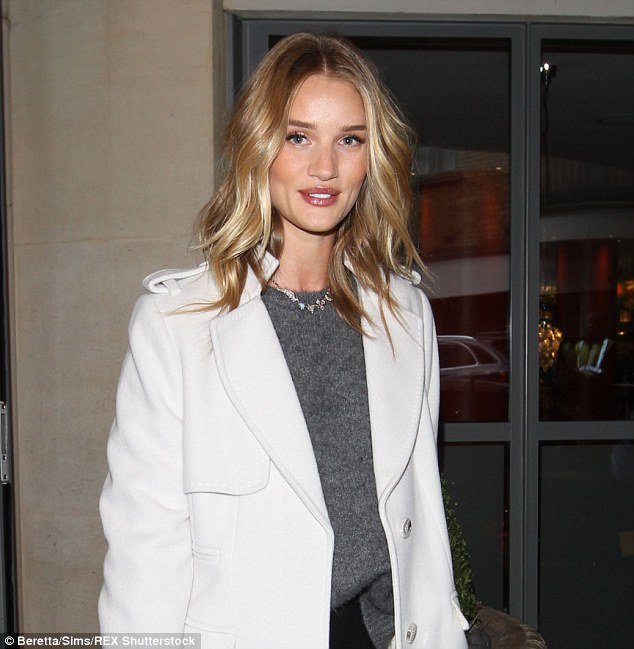 Rosie Huntington-Whiteley revealed how she suffered a beauty disaster when she used a home hair-dye kit