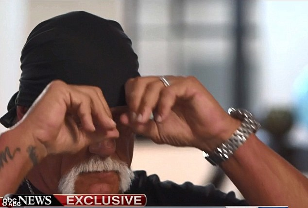 Assailed for his use of the n-word in a video leaked by gossip site Gawker, Hogan told Good Morning America he's now at an all-time low as he begged his former legion of fans to take him back