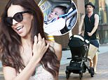 Picture Shows: Clark Mallon  August 28, 2015\n \n **Min Web / Online Fee �400 for set **\n \n TV host Terri Seymour and her boyfriend Clark Mallon are spotted out and about in Beverly Hills, California with their baby girl Coco. The happy couple welcomed their bundle of joy in early March.\n \n **Min Web / Online Fee �400 for set **\n \n Exclusive All Rounder\n UK RIGHTS ONLY\n \n Pictures by : FameFlynet UK � 2015\n Tel : +44 (0)20 3551 5049\n Email : info@fameflynet.uk.com