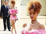 Mandatory Credit: Photo by Buzz Foto/REX Shutterstock (5016786a)\n Rihanna\n Rihanna out and about, New York, America - 31 Aug 2015\n \n