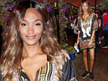 LONDON, ENGLAND - AUGUST 31:  Jourdan Dunn attends the Red Bull Carnival Party in Notting Hill on August 31, 2015 in London, England.  (Photo by John Phillips/Getty Images for Red Bull)