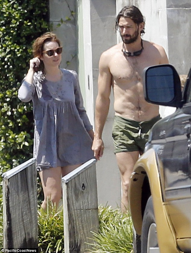 No stranger to nudity: The actor, who plays Daario Naharis, the warrior lover of Emilia Clarke's character Daenerys Targaryen, ruler of House Targaryen, in Game Of Thrones, frequently has to strip off for the part