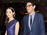 Mandatory Credit: Photo by Startraks Photo/REX Shutterstock (3825660e).. Emmy Rossum and Sam Esmail.. 'Comet' film premiere, Los Angeles Film Festival, America - 13 Jun 2014.. ..