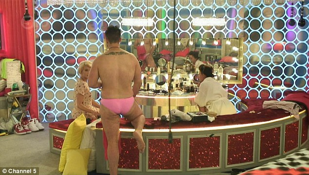 Trying to do an Austin? Stevi continued to press the matter with Chloe-Jasmine, all the while wearing her tight pink bikini bottoms