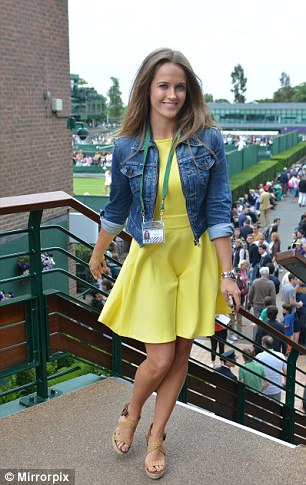 Shy: According to Andy Murray, his wife does not seek any of the attention that comes her way