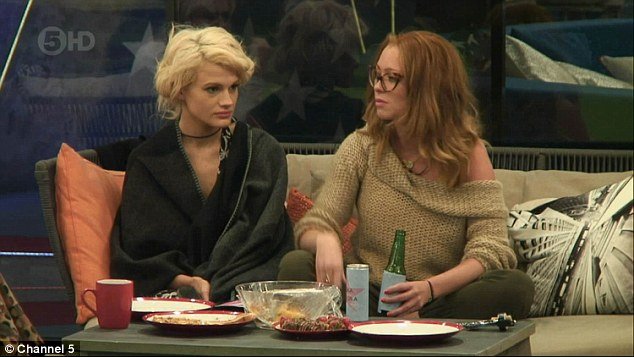 Giving her ideas? Natasha Hamilton told Chloe-Jasmine that if it had been her partner in the hot tub, she would have been jealous