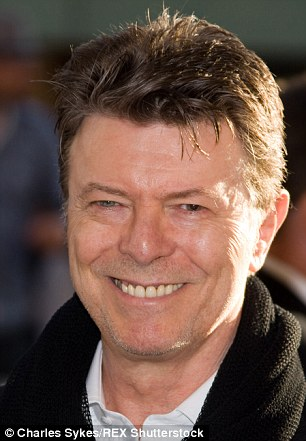 David Bowie (above) will also be writing an original song for the musical