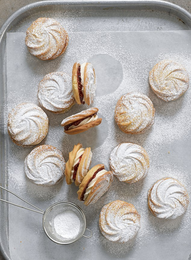 These delicate, melt-in-the-mouth sandwich biscuits can show off your piping skills