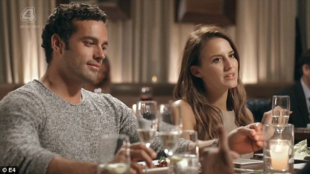 In love:But between Binky's non-relationship with JP and Jamie's ruined romance with Nas, love is in the air for Louise and her boyfriend Alik and Lucy and her beau James Dunmore